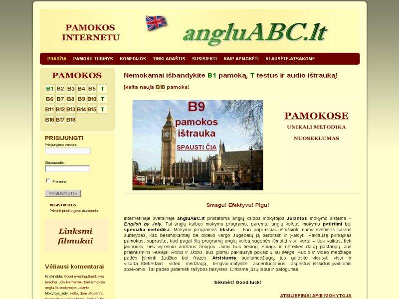 www.angluABC.lt