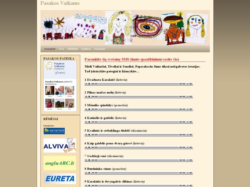 www.pasaku.svetaine.eu
